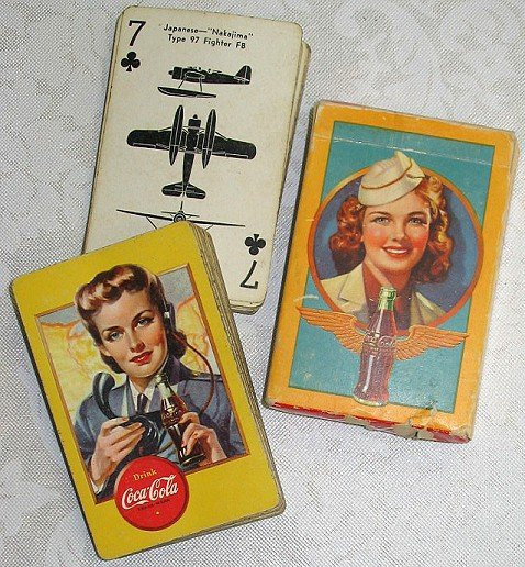 aircraft ID playing cards