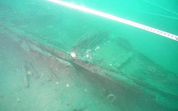 Mongolian wreck, 13th century invasion of Japan
